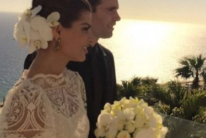 Se casaron el ex de Ana Brenda Contreras y la ex de Monserrat Oliver