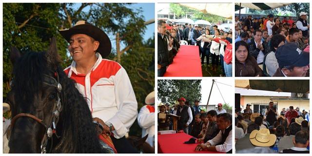 Militantes de Uxpanapa refrendan su respaldo a Ricardo Orozco Alor