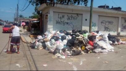 Quejas contra servicio de limpia pública