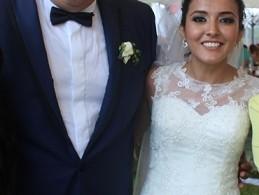 Elegante enlace matrimonial entre Felipe Gil y Sandy Torres