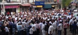 VIDEO En Minatitlán médicos marchan en contra de la inseguridad