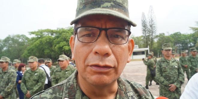 Ejército continúa resguardando a población