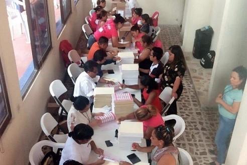 Arriban boletas para Gobernador de Veracruz al OPLE de Minatitlán