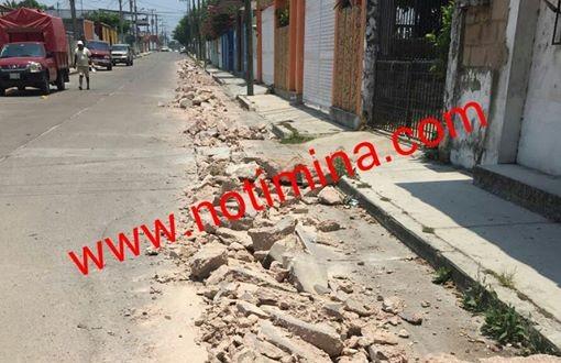 CAEV – Minatitlán realiza trabajos para mejorar servicio en el ejido Tacoteno