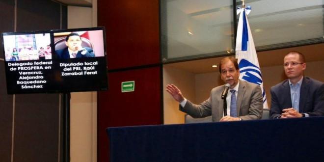 Denuncian dirigencia nacional del PAN y PRD desvíos del programa PROSPERA para operar campaña de Héctor Yunes