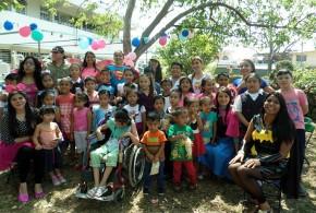 Facultad de Odontología celebró a los niños en su día.