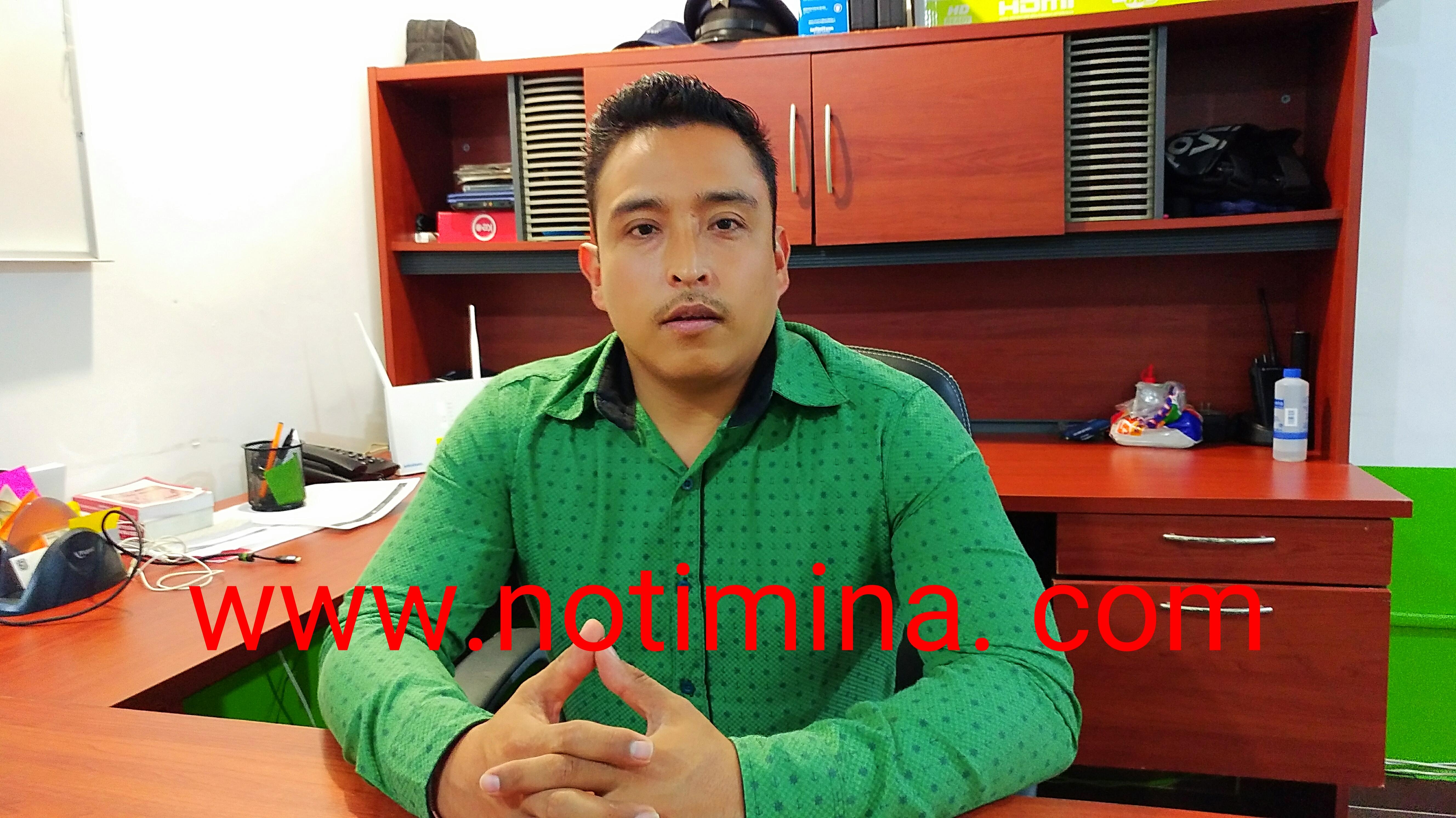 Delegado de Tránsito de Mina; dice que ahora si, se pondrá a trabajar