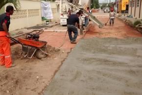 Avanza rehabilitación de calles y avenidas de Minatitlán