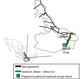Proyecto del Gasoducto Jáltipan – Salina Cruz, se licitara para el año 2017