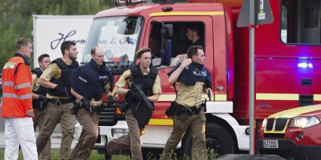 El tiroteo que habría comenzado en un McDonald's en Munich