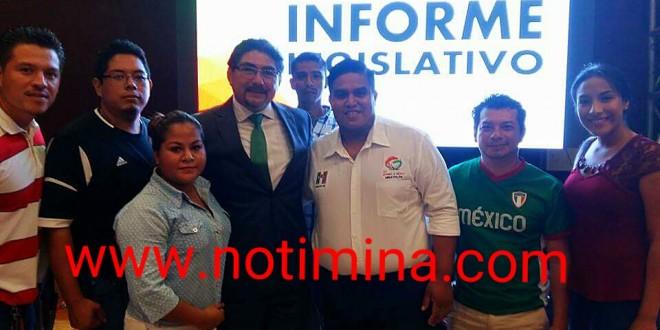 """""""Red de Jóvenes por México"""" llevara a cabo campaña de afiliación en Minatitlán"""