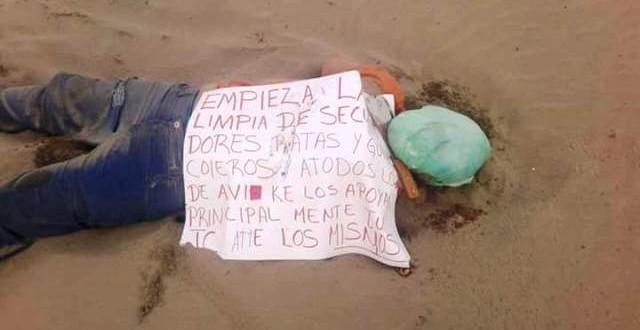 Sigue la limpia…otro ejecuado en Coatzacoalcos