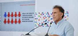 """""""Veracruz vive una emergencia en materia de seguridad, finanzas públicas y empleo"""": Gobernador Yunes"""