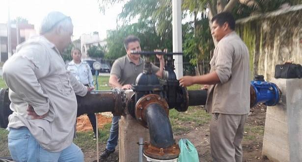 Alerta CAEV por turbiedad en 5 colonias de Minatitlán por entrada del pozo No 23