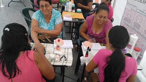 Ayuntamiento de Minatitlán; conmemora Mes de la Sensibilización del Cáncer de Mama