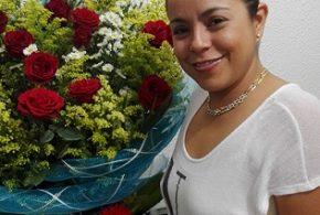 Ameno festejo para Marisol Ramos de Martínez.