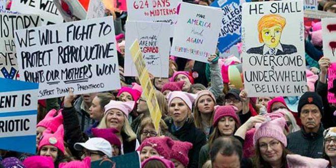 MxM: Mujeres marchan en todo el mundo contra Trump