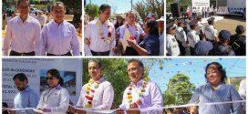 GOBERNADOR INAUGURA OBRAS EN LA COLONIA JARDINES DE TLALCUALEYA