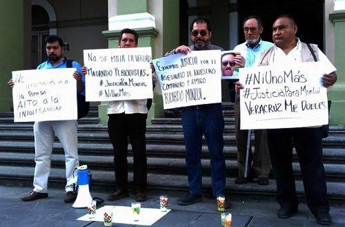 Diversas Asociaciones de Periodistas, exigen se investigue y aclare asesinato del periodista Ricardo Mounlí