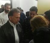 Gobernador Yunes Linares acude a velorio del periodista Ricardo Monluí
