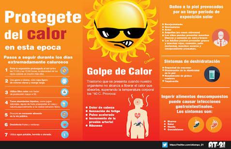 Advierte IMSS sobre golpe de calor; ante altas temperaturas