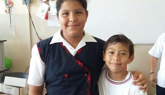 María Alejandra, muy festejada por sus 11 añitos