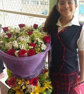 Megan Carmona Martínez, cumplió 11 años de vida.