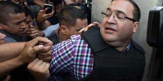 Fiscalía de Veracruz se adhiere petición de extradición de Duarte