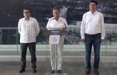 """""""Me comprometí a que Duarte sería detenido y se le aplicaría la Ley. Hoy ya está en la cárcel"""": Gobernador Yunes"""