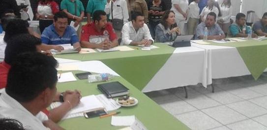 Se reúne titular de la SPC Yolanda Baizabal con Alcaldes de la zona sur.
