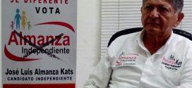 """Convoca """"Almanza, Independiente"""" a la concordia y no empañar la elección en Minatitlán"""