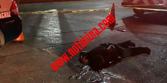 """En Minatitlán; asesinan a una persona afuera del antro """"Maracuya"""""""