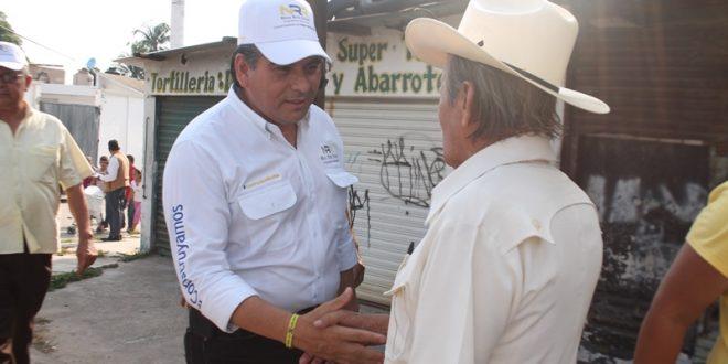 Minatitlecos, unidos para hacer el cambio con Nico Ruiz