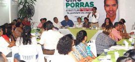 Ciro Porras será nuestro presidente  municipal: Maestros y Padres de familia