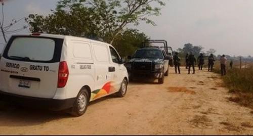 En zona rural de Minatitlán; encuentran ejecutados a dos hombres y una mujer