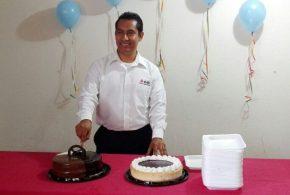 Celebró un año más de vida el licenciado Búlmaro Cruz Hernández.