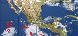 Se forma el huracán 'Hilary' frente costa de Manzanillo