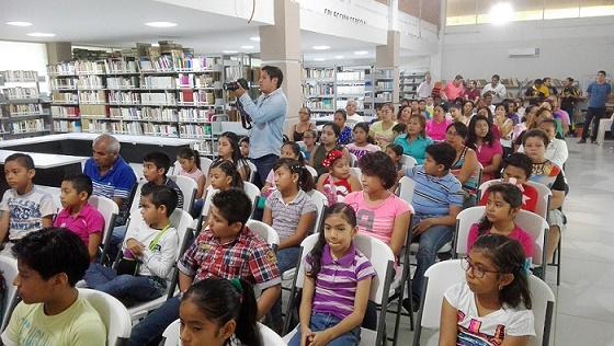 Inicia Curso de Mis Vacaciones en la Biblioteca 2017.