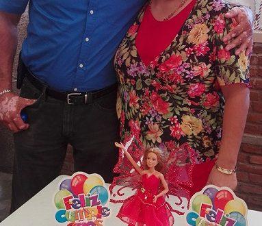 De plácemes los esposos Armando Gómez y Patricia Robles.