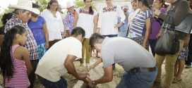 Construye Gobierno de la República infraestructura hidráulica en Espinal