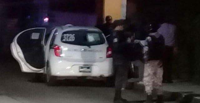 Sigue la matazon; ejecutan a dos en un taxi de Minatitlán