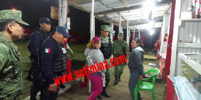 SEDENA decomisa toneladas de cohetes en Coatzacoalcos