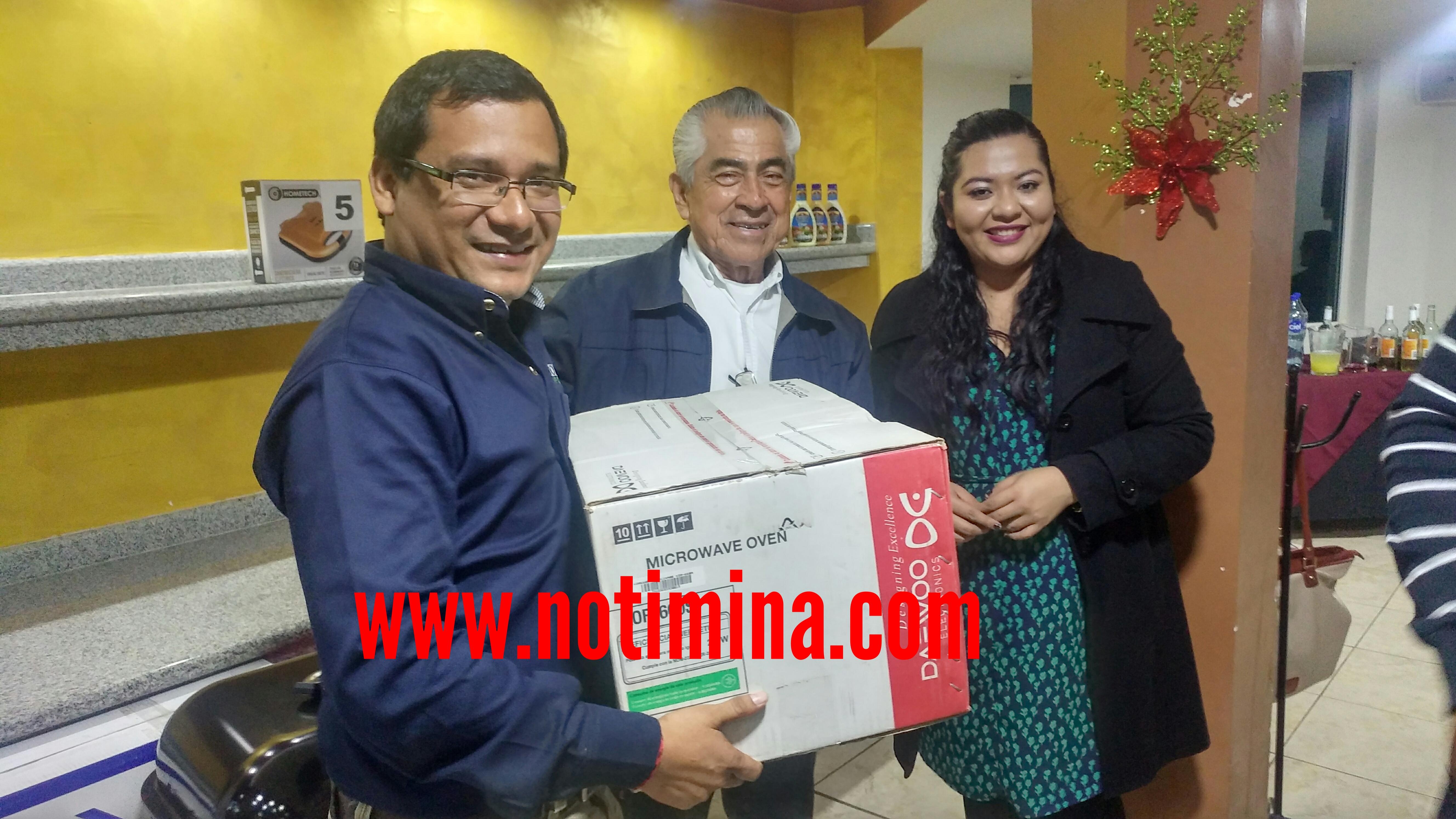 El alcalde Nicolás Reyes, celebra a periodistas en el Día Nacional del Periodista